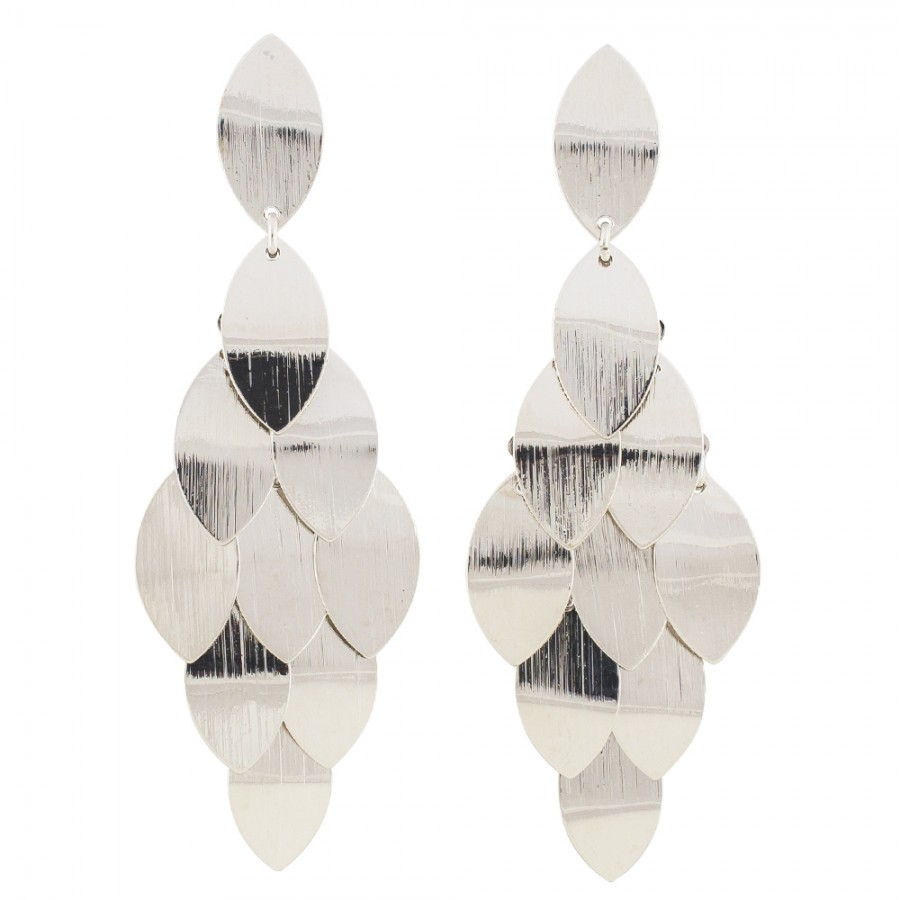 Cascade Earrings - Gold or Silver