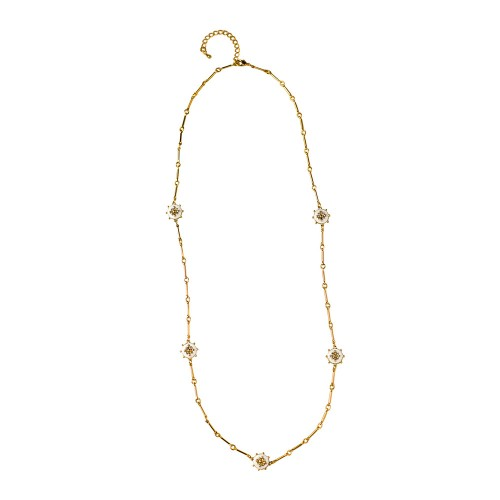 Versatile Reversible Gold Bar Chain Necklace