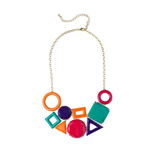 Bright Geometrics Necklace