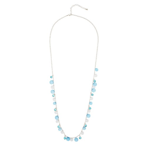 Blue Droplets Necklace