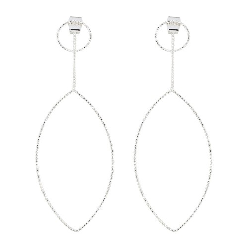 Dual Wear Earrings - Gold or Silver