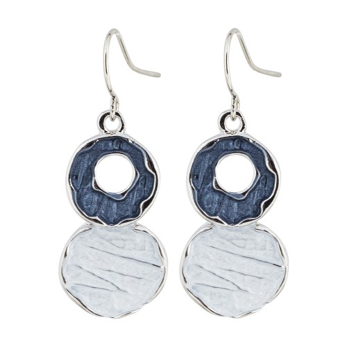 Tonal Tones Fishhook Earrings