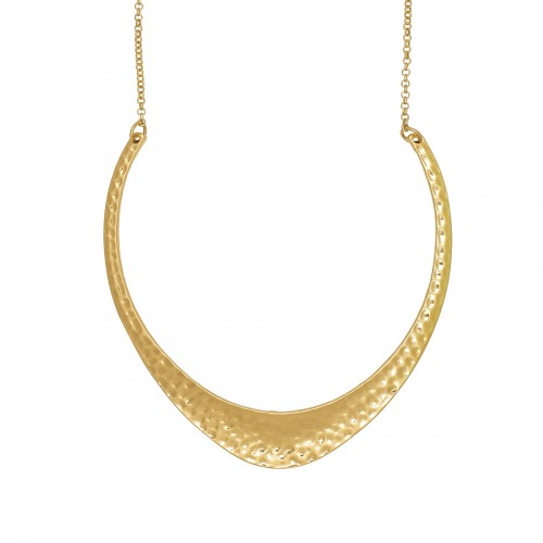Boomerang Gold Necklace