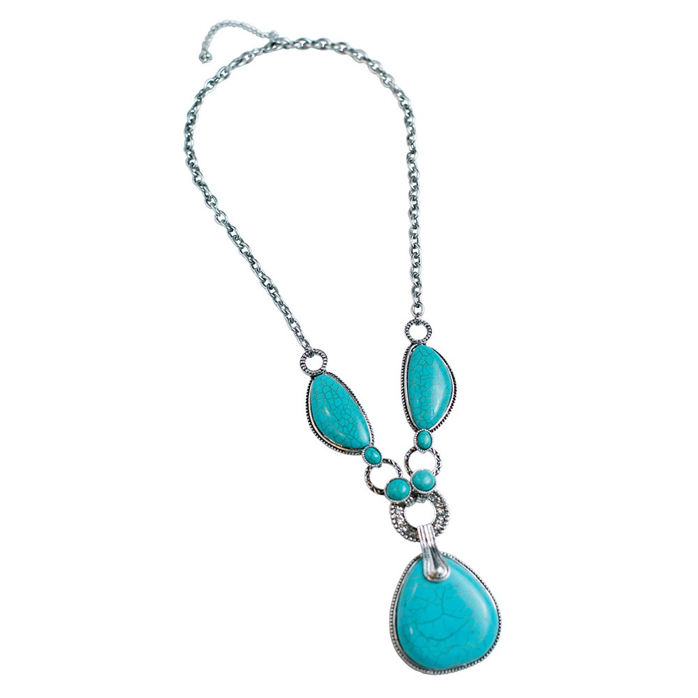 Bold Turquoise Necklace