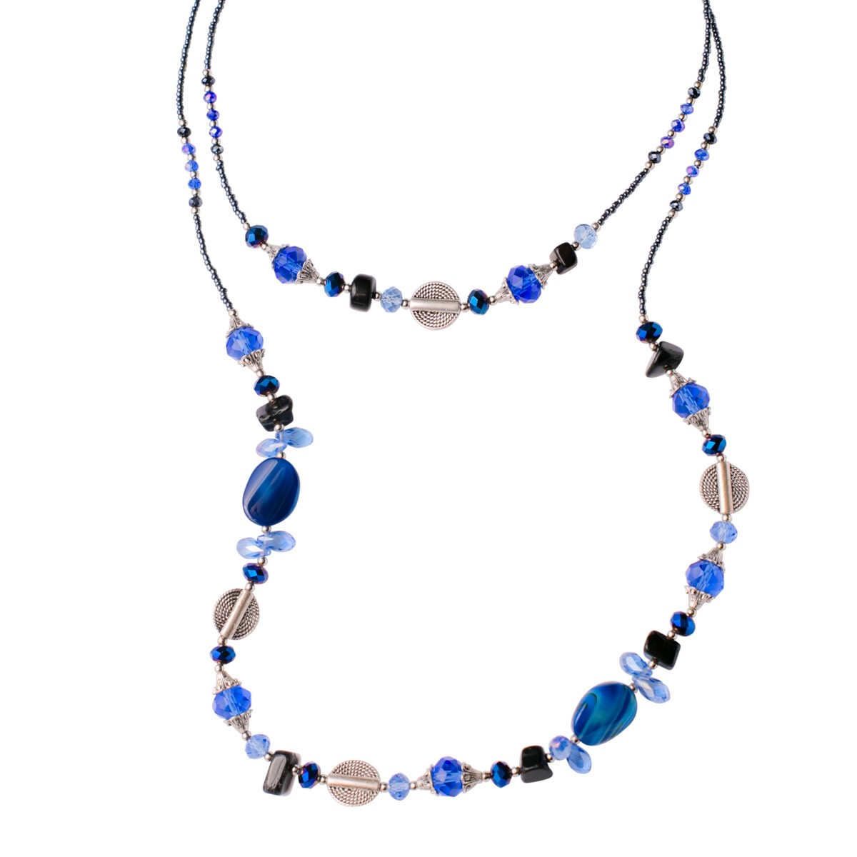 Blue Jazz Necklace