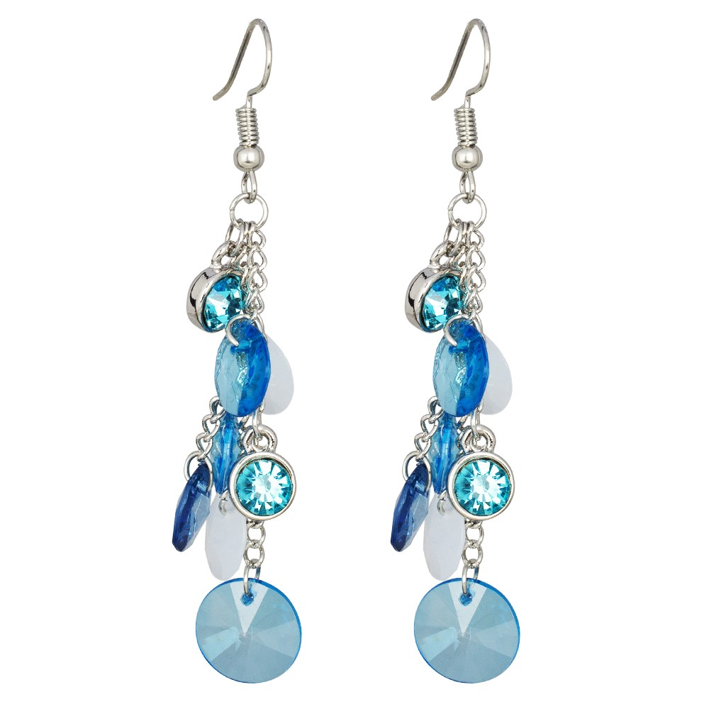 Blue Droplets Earrings