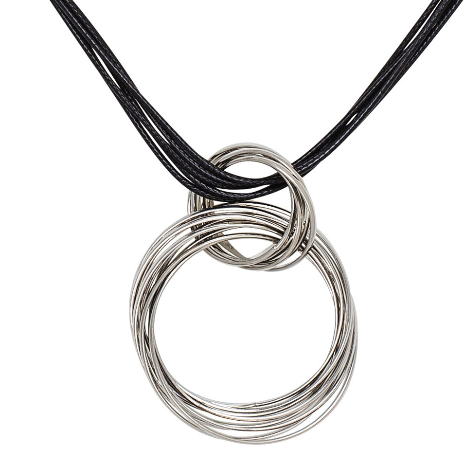 Ring Around Silver Pendant