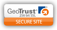 GeoTrust seal. Secure checkout at FlairDot.com